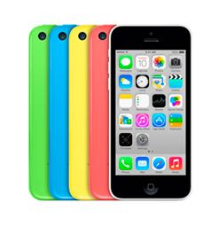 замена стекла дисплея iphone 5c