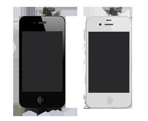 Полная замена и стекла и еще дисплея iphone 4