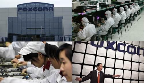 Китайцы собирают стекла и дисплеи для айфонов 5 и 6