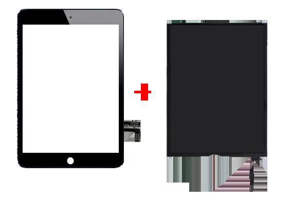 Полная замена дисплея со стеклом ipad air