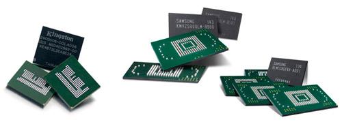 EMMC память замена