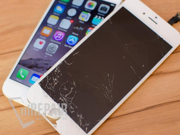 замена только стекла iphone 6