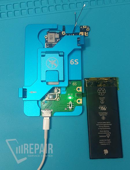 Замена флеш памяти iphone 6s